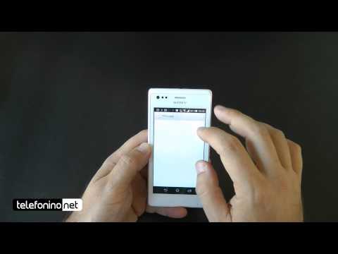 Sony Xperia M videoreview da Telefonino.net