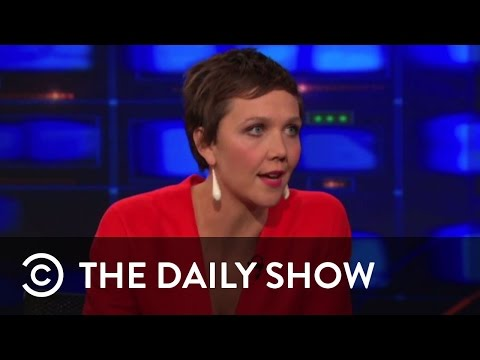 Maggie Gyllenhaal | The Daily Show with Jon Stewart