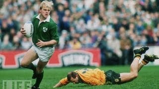 Ireland Rugby Great Simon Geoghegan