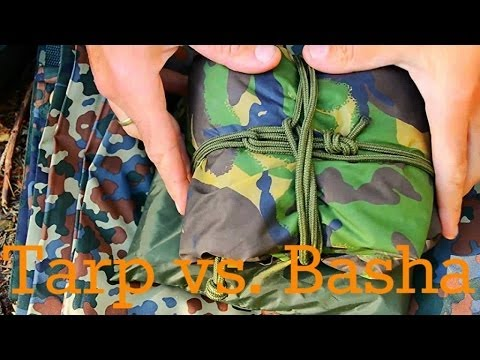 Outdoor Ausrüstung 18 - Tarp vs. Basha