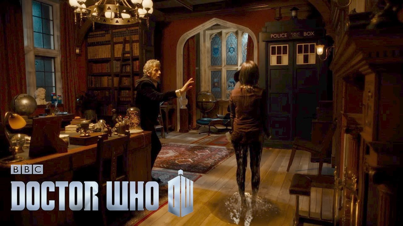 Doctor Who: Bill's first experience of the TARDIS! - BBC One