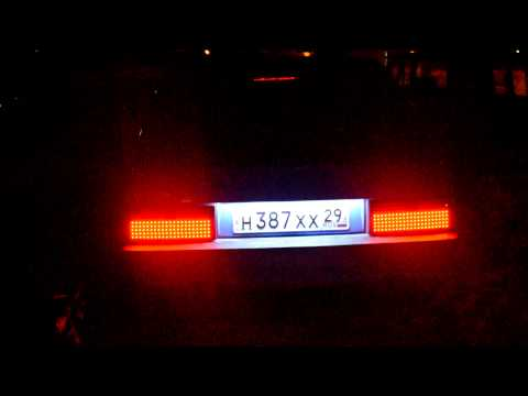 Ваз 2109 светодиодные задние фары