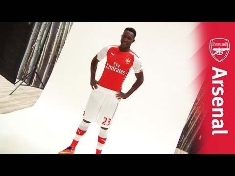 Behind the scenes: Danny Welbeck photoshoot