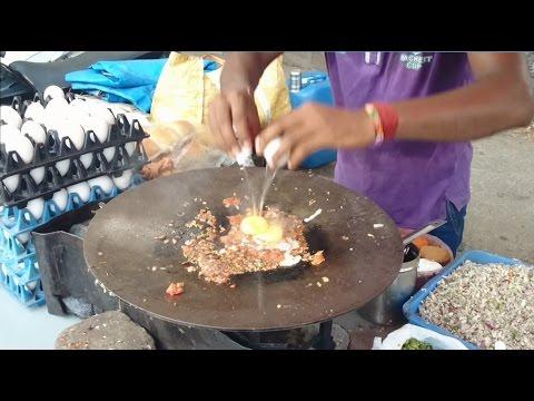 Amazing Mumbai Street Food Egg Bhurji Pav | Scrambled Eggs | Indian Street Food  [HD 1080p]