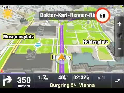 Sygic GPS Navigation for iPhone and iPad - YouTube.flv