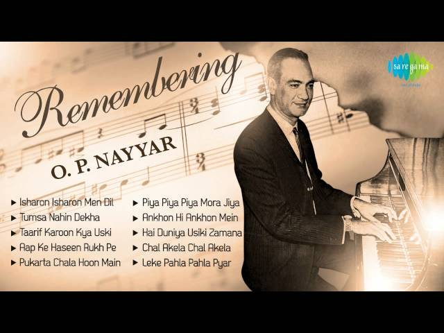 Best of O  P  Nayyar | Popular Old Hindi film Songs
