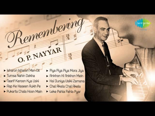Best of O  P  Nayyar | Popular Old Hindi film Songs