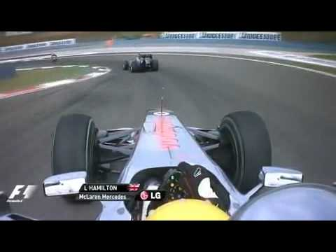 Lewis Hamilton vs Mark Webber Turkey 2010 by CristhianZ6