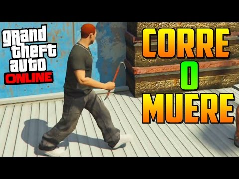 CORRES O MUERES ¡FINAL INESPERADO! - Gameplay GTA 5 Online Funny Moments (GTA V Xbox ONE)