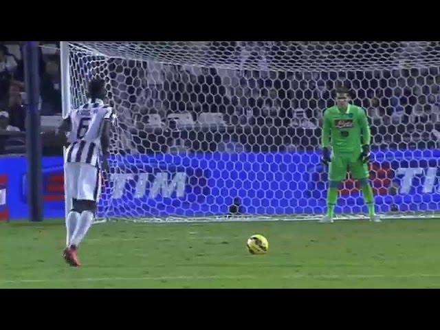 Paul Pogba's Interesting Penalty Technique!