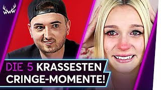 Die 5 KRASSESTEN Cringe-Momente auf YouTube! | TOP 5