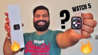 Apple Watch Series 5 Unboxing & First Look - 44mm Stainless Steel Gold Cellular - It's HOT🔥🔥🔥