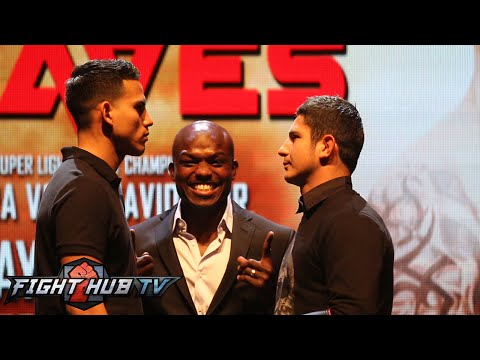 Timothy Bradley vs Diego Chaves full press conference face off video