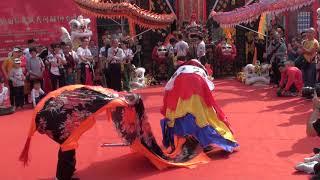 佛山禪港比麟堂200週年紀念-獅人空間龍獅麒麟會麒麟表演