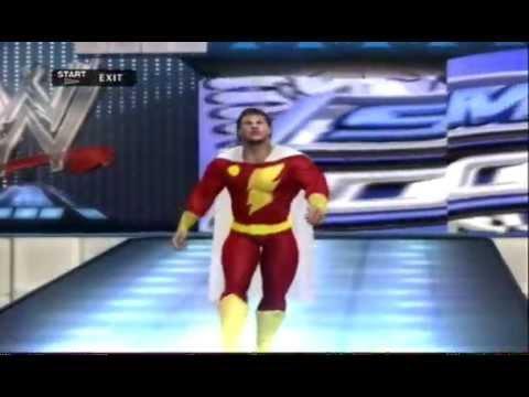 Smackdown vs. Raw 2010 Captain Marvel CAW