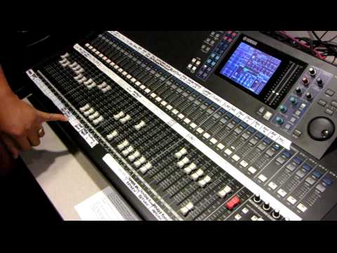 Yamaha Digital Mixing Console LS9-32 Tutorial by Haniel Trisna...