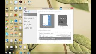 Botón de inicio de windows 7 para windows 8.1
