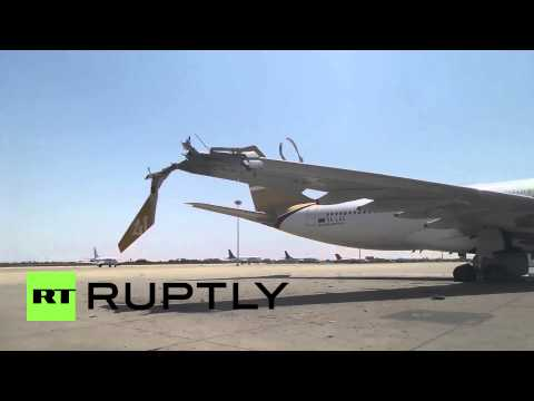 Libya: Tripoli airport destroyed by clashing militias