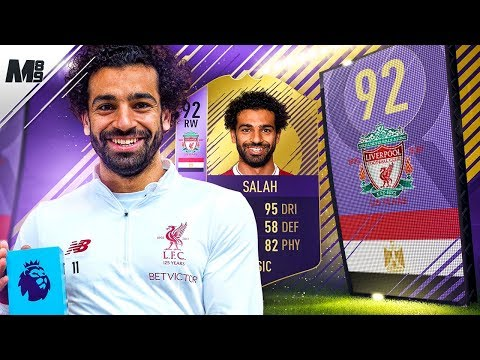 FIFA 18 92 POTM SALAH REVIEW | 92 SPOTM SALAH PLAYER REVIEW | FIFA 18 ULTIMATE TEAM