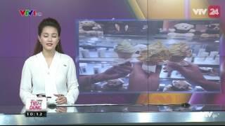 Tin Tức VTV24 - Ngày 05/04/2017: Việt Nam Cũng Đã Có Kem Dát Vàng