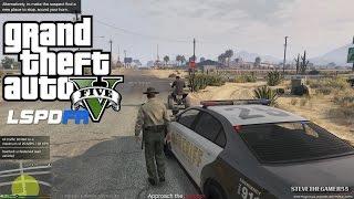 GTA 5 - LSPDFR - EPiSODE 25 - LET'S BE COPS - SHERIFF PATROL (GTA 5 PC POLICE MODS)