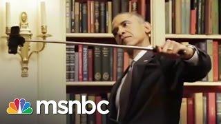 Obama's BuzzFeed Video | Selfie Sticks & Cookies