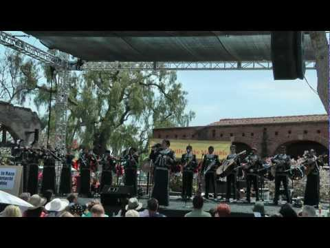 Plaza De La Raza Youth Mariachi @ San Juan Capistrano Battle Of The Mariachis 2012