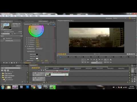 How to make a Timelapse in Adobe Premiere Pro | GoPro footage
