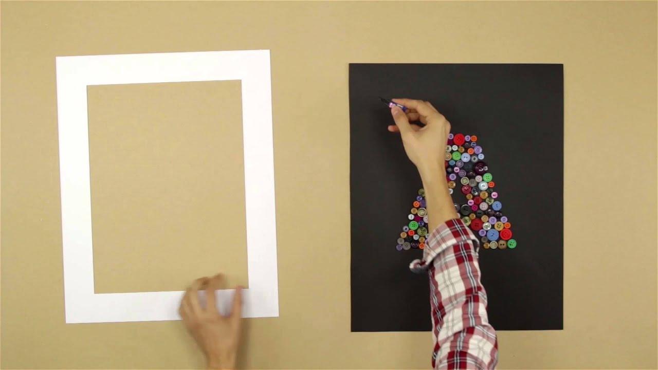 Bricofans crear un cuadro con botones youtube - Cuadros con botones ...