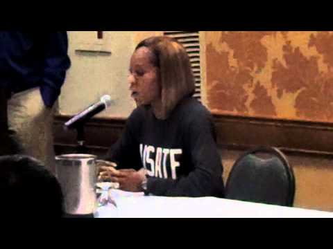 2012 Olympic Track & Field Trials: Sanya Richards-Ross Press Conference