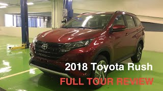2018 TOYOTA RUSH 1.5G AT || FULL TOUR REVIEW