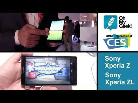CES 2013: Sony Xperia Z y ZL (Spanish) - OhMyGeek!