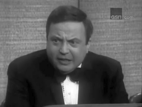 What's My Line? - Allan Sherman; PANEL: Mark Goodson, H.G. Brown, Tony Randall (May 14, 1967)