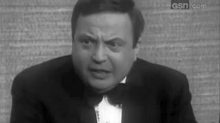 What's My Line? - Allan Sherman; PANEL: Mark Goodson, H.G. Brown, Tony Randall (May 14, 1967)