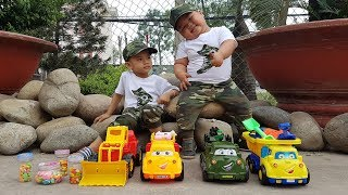 Trò Chơi Đi Săn Xe & Kẹo ❤ ChiChi ToysReview TV ❤ Đồ Chơi Trẻ Em Baby Doli