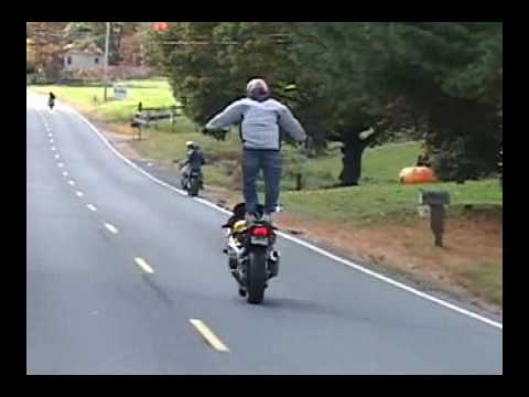 Bike Sport Crash XFR Street Bike Crashes