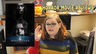 25 Horror Movie Reviews