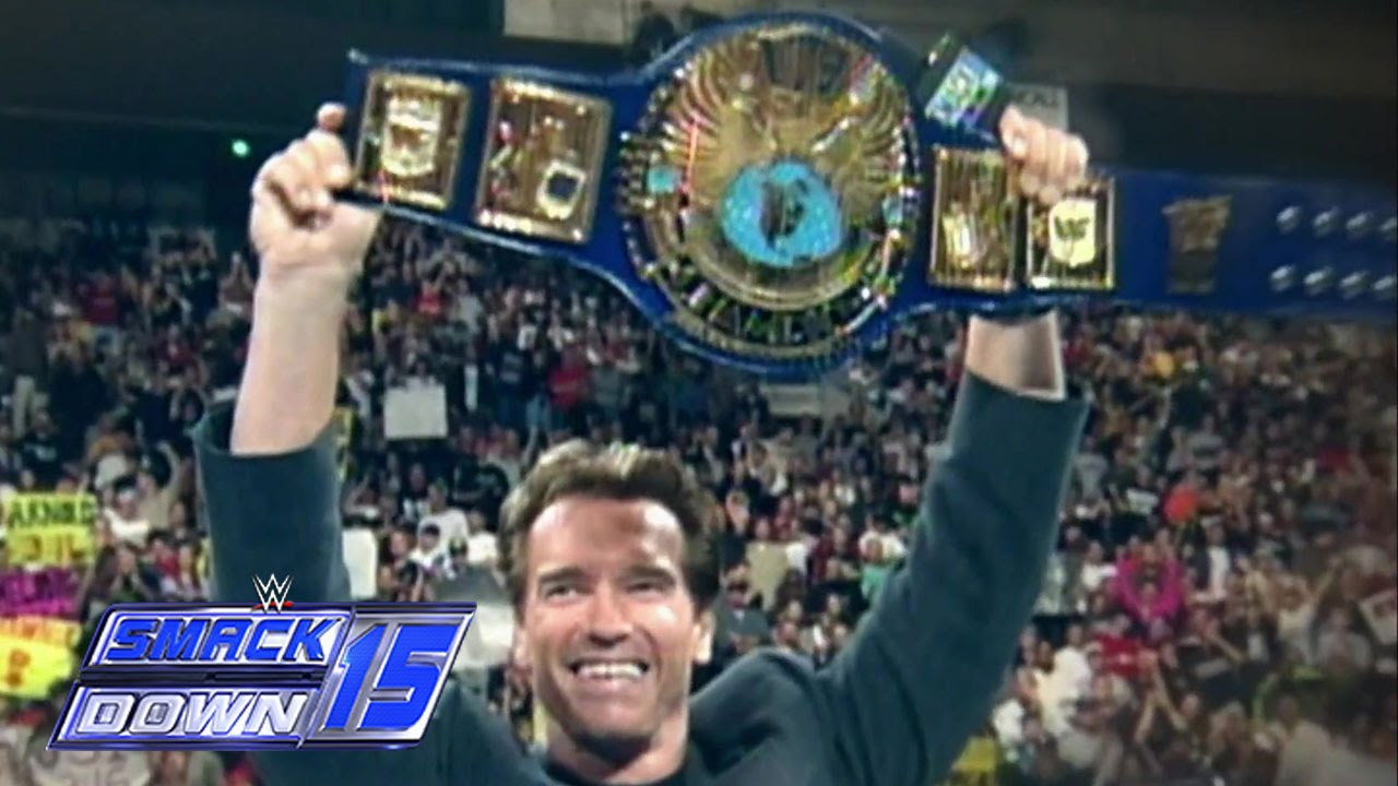 SmackDown Gets Terminated By Arnold Schwarzenegger YouTube