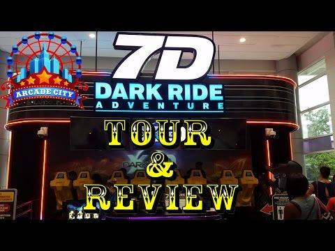 Arcade City Orlando Triotech 7D Dark Ride Adventure Tour / Review & Interview!