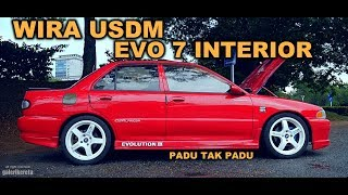 Proton Wira EVO 7 INTERIOR - PADU TAK PADU