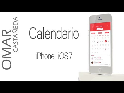 IPHONE 5 iOS7: COMO USAR EL CALENDARIO