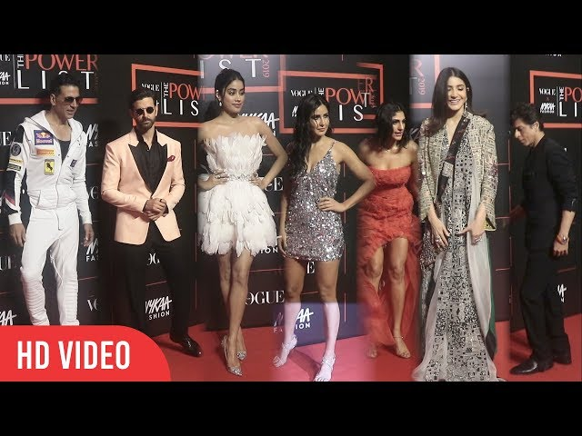 Hrithik, Akshay, Shahrukh, Katrina, Anushka & Whole Bollywood at Nykaa Fashion and Vogue India 2019 thumbnail