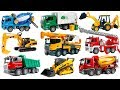 Cars toy BRUDER Construction Vehicles Garbage truck, Excavator, Mixer, Crane. Toys For Kids