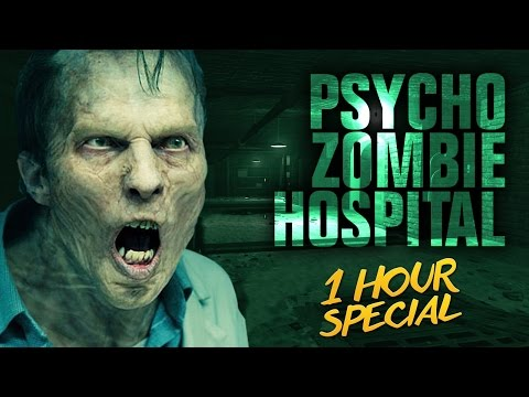 PSYCHO ZOMBIE HOSPITAL - 1 HOUR SPECIAL ★ Call of Duty Zombies Mod (Zombie Games)