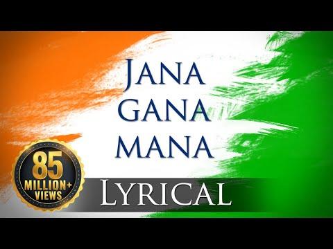 Jana Gana Mana (hd) - National Anthem With Lyrics - Best Patriotic Song video