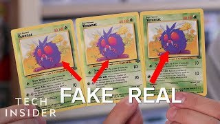 How To Spot Fake Pokémon Cards