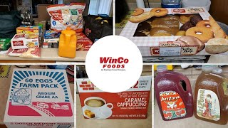 WinCo Foods Grocery Store Haul Video - Our Huge Monthly Shopping Trip Getting Food & Essentials