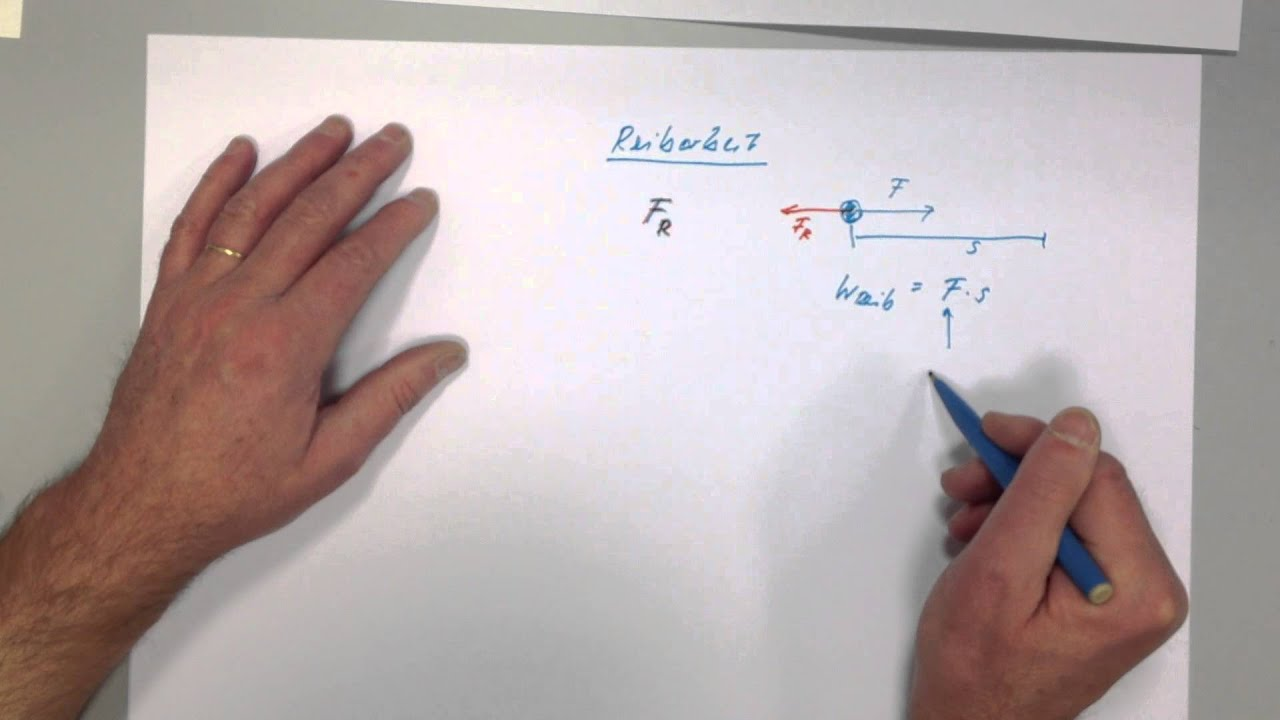 Mechanische Arbeit Physik Teil 1 Mechanische Arbeit