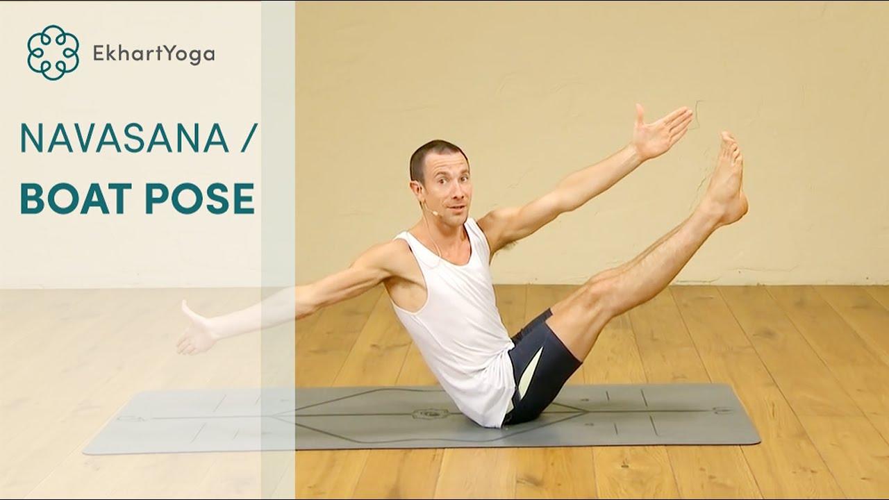 Navasana / boat pose, Yoga with Joey Miles