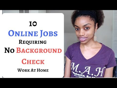 10 Online Jobs, No Background Check, No Experience. Always Hiring.